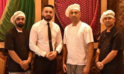 Equipo Swagat Cocina Hindú